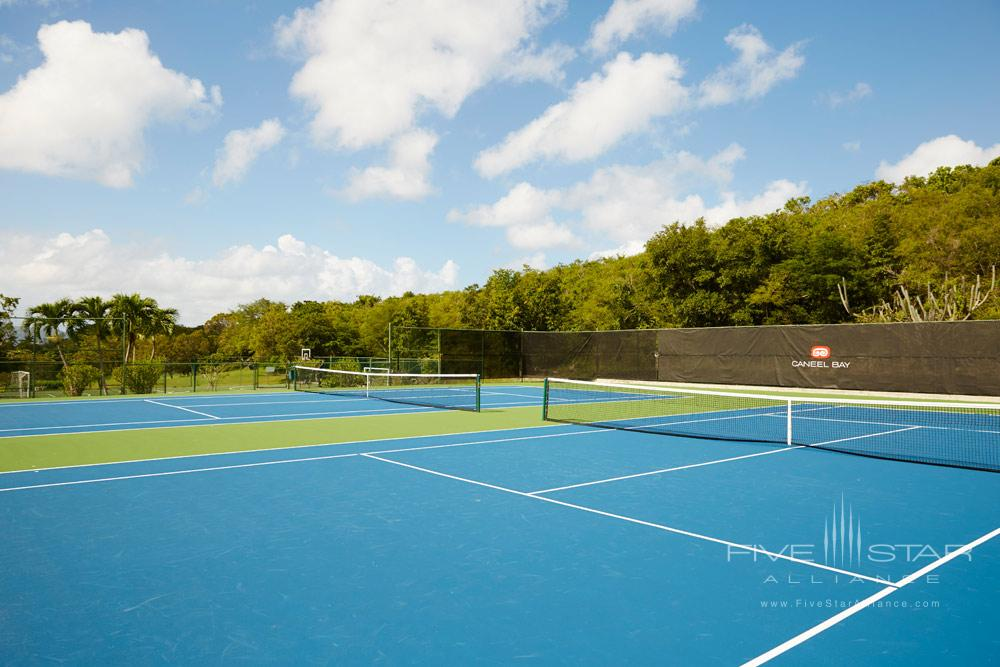 Tennis Courts at Caneel BaySt. JohnUnited States
