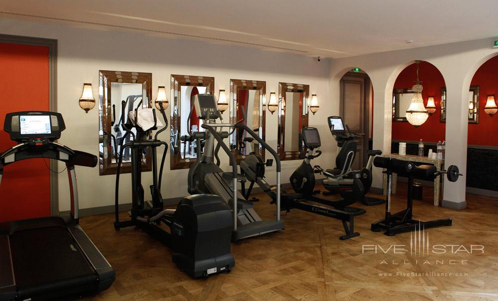 Gym at Saint James Paris, France