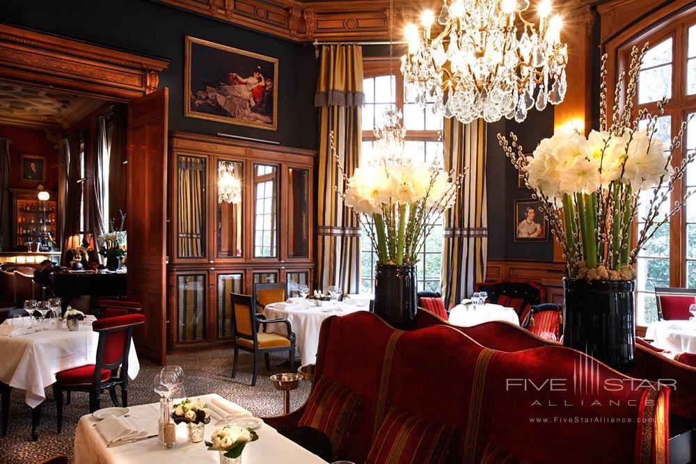 Dining at Saint James Paris, France