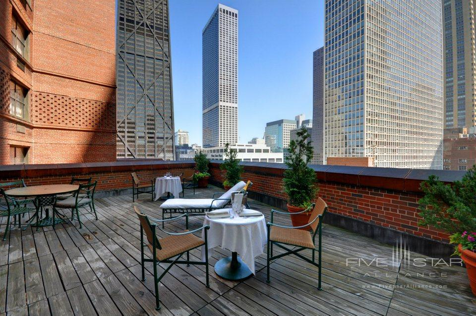 The Whitehall Hotel Presidential Suite Terrace