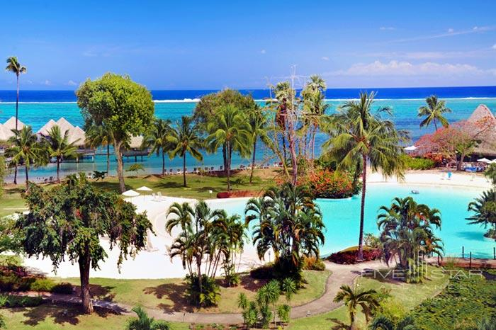At Le Meridien Tahitiwhich would you like to try firstthe beach or the pool