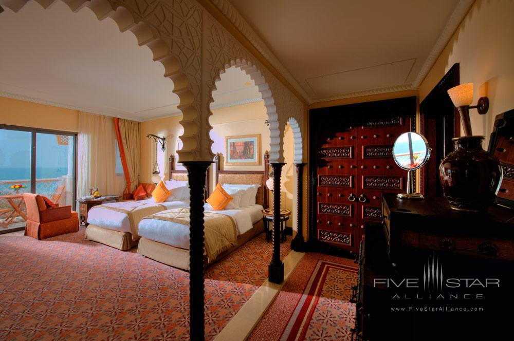 Ocean Deluxe Twin Room at Al Qasr at Madinat Jumeirah Dubai