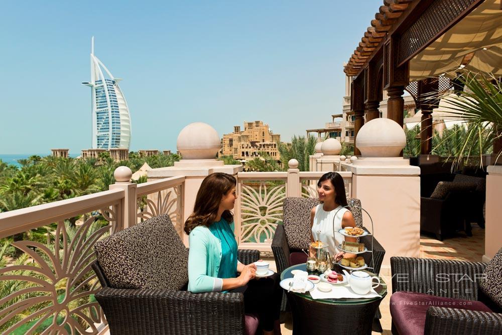Afternoon Tea on the Terrace at Al Qasr at Madinat Jumeirah Dubai