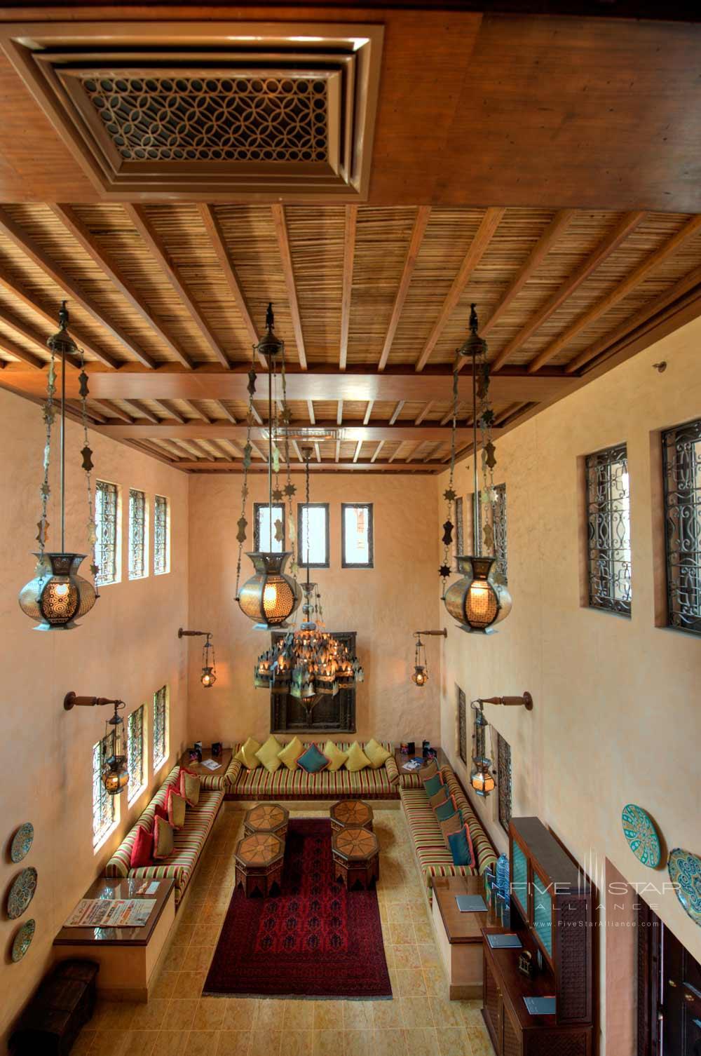Lounge Area of Dar Al Masyaf at Madinat JumeirahDubai
