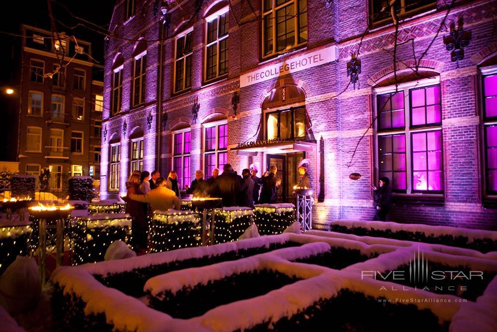The College Hotel ExteriorAmsterdam