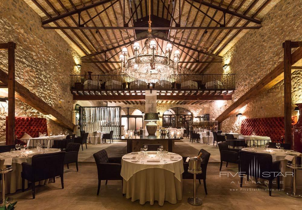Dining at Gran Hotel Son Net Mallorca, Spain