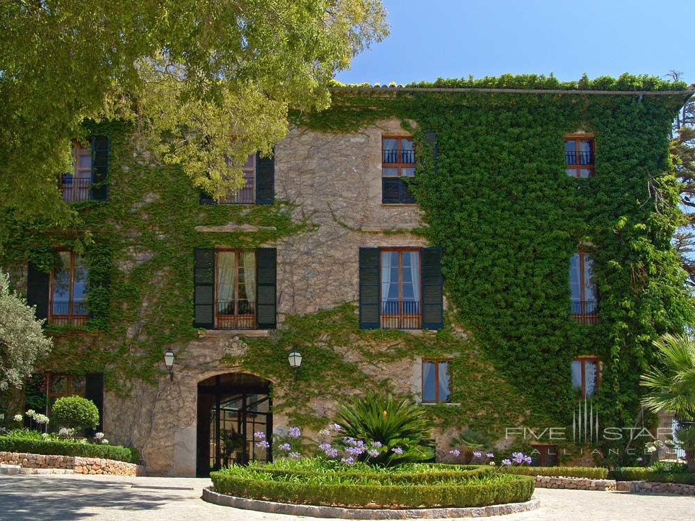 Entrance at Gran Hotel Son Net Mallorca, Spain