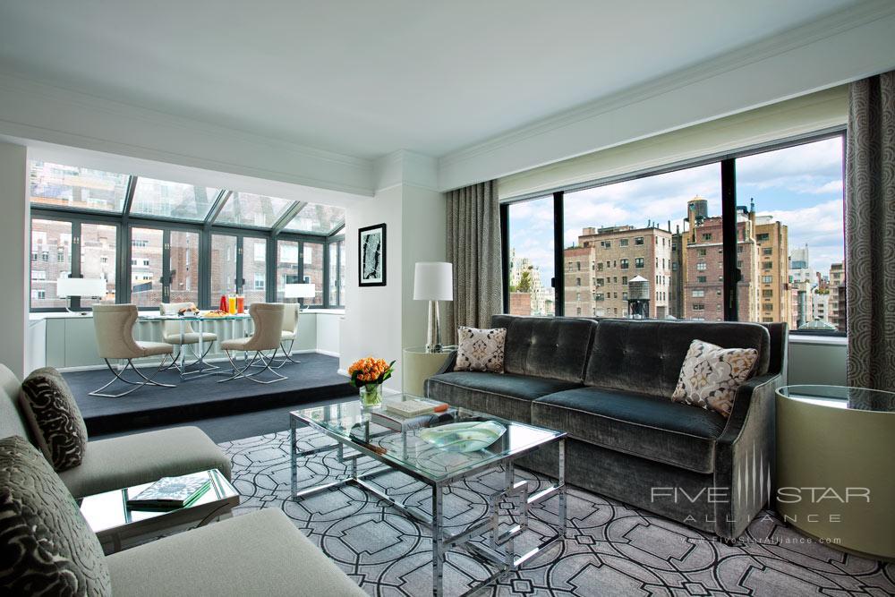 Terrace Suite Living Room at Loews Regency Hotel, New York