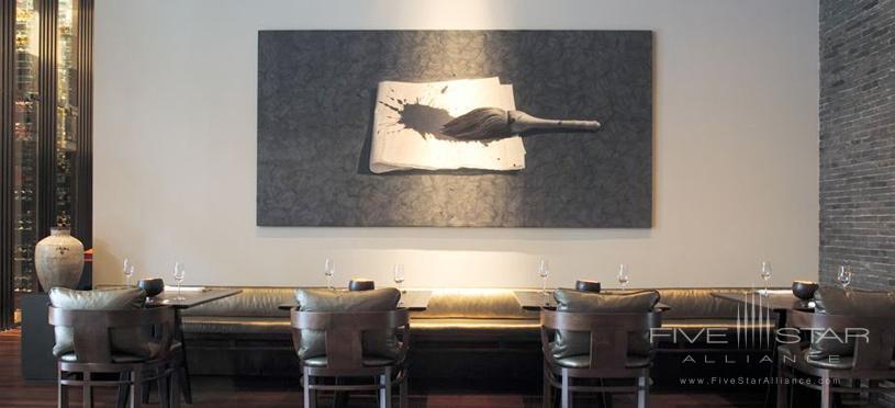 Lounge Area At The SetaiMiamiFL