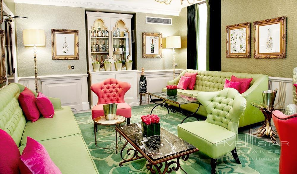 Perriet Jouet Lounge at Dukes HotelLondonUK