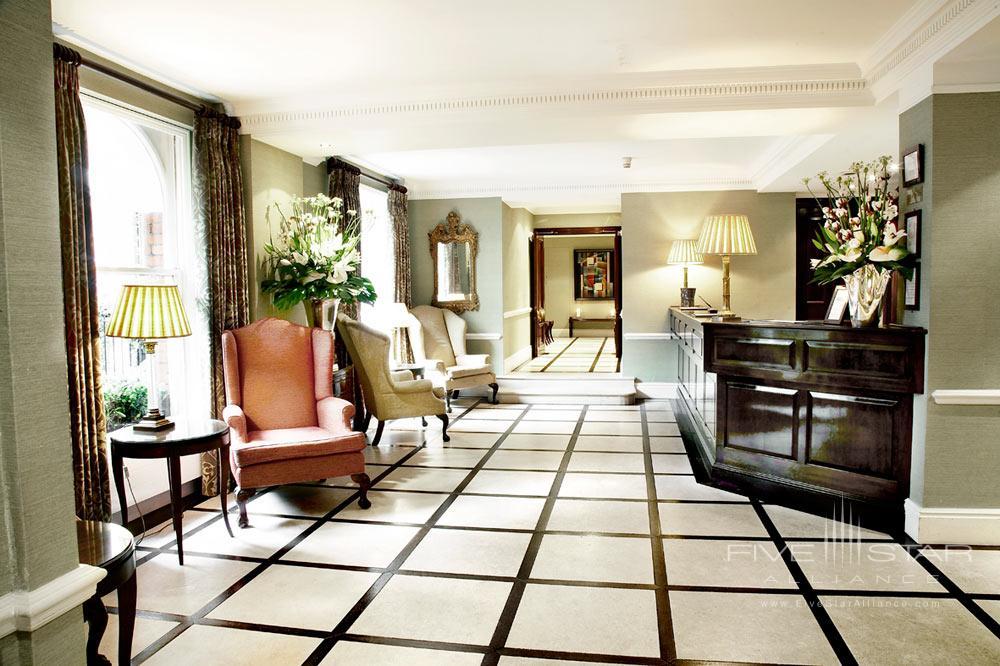 Reception at Dukes HotelLondonUK