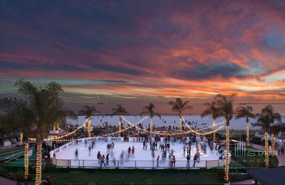 Skating by the Sea at Hotel del Coronado
