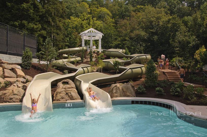 The Homestead Pool Slides