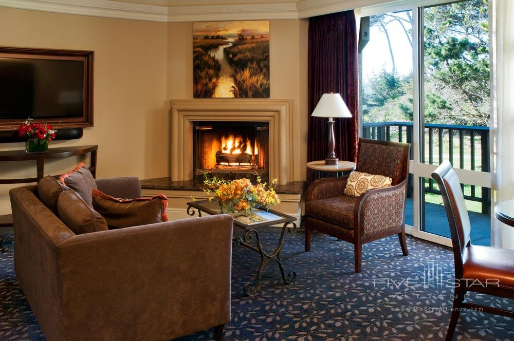Garden view room at The Inn at Spanish BayPebble BeachCA