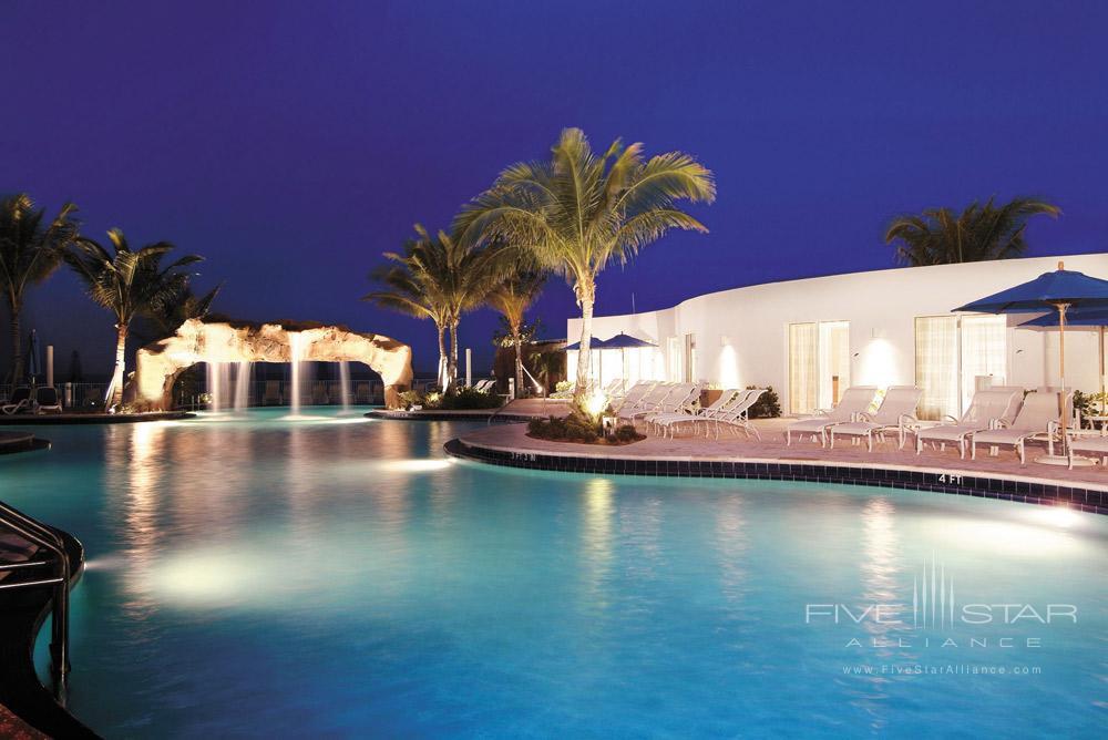 Pool at Trump International Beach Resort in Sunny Isles BeachFL