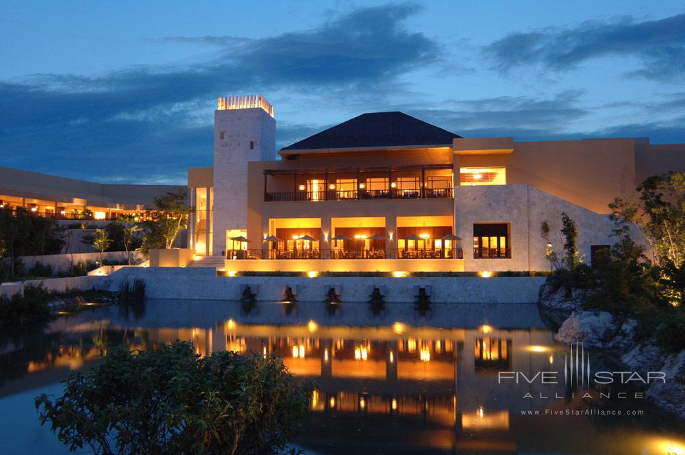 Exterior view of The Fairmont Mayakoba in Playa del CarmenMexico
