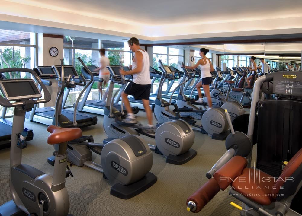 Fitness Gym at The Fairmont Mayakoba in Playa del CarmenMexico