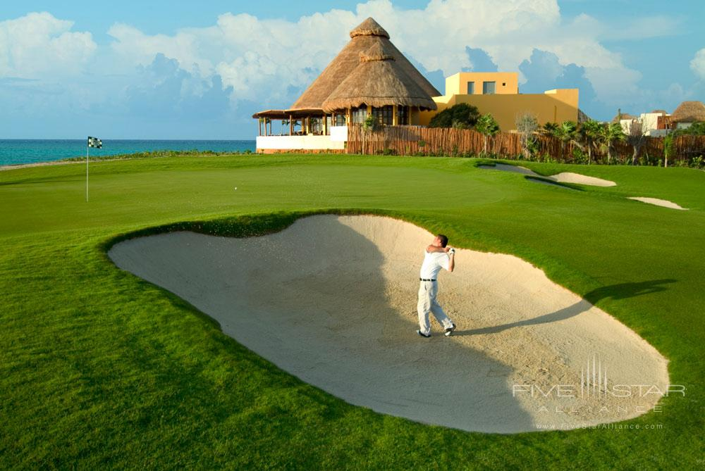 Golf course of The Fairmont Mayakoba in Playa del CarmenMexico