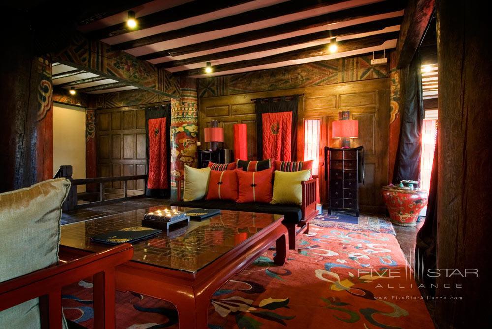 Spa Reception at Banyan Tree Ringha