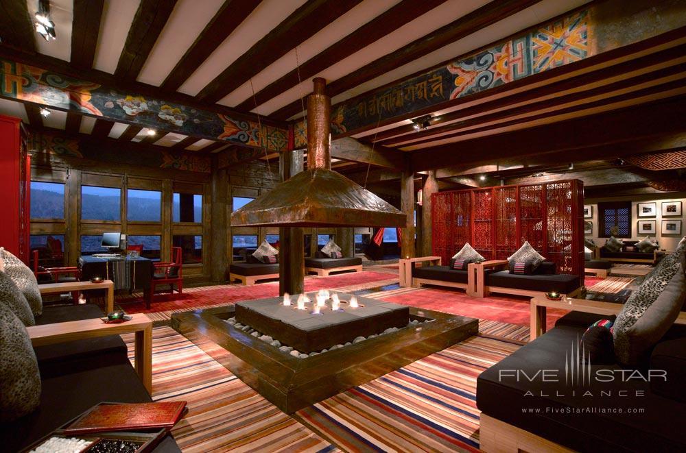 Lobby at Banyan Tree Ringha