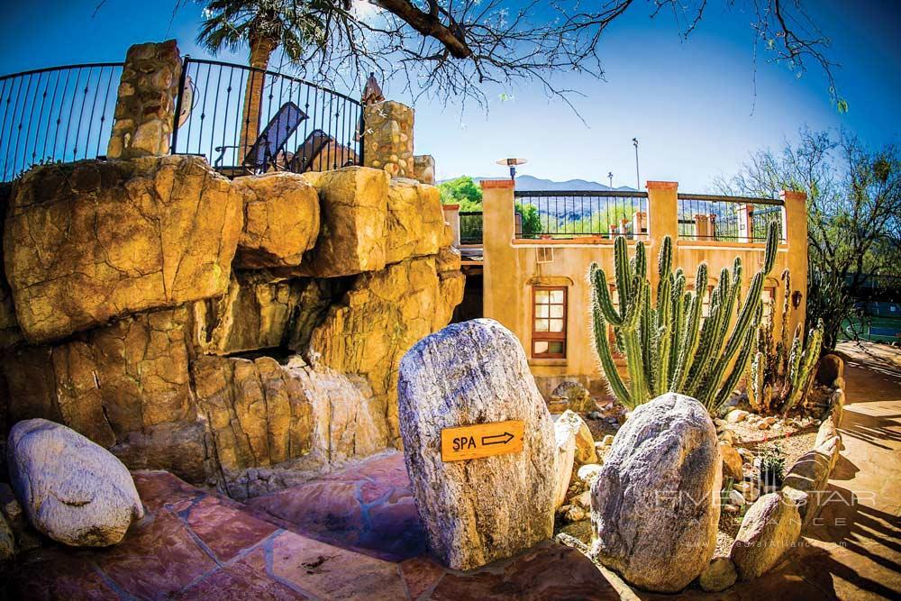Spa Entrance at Tanque Verde RanchAZ
