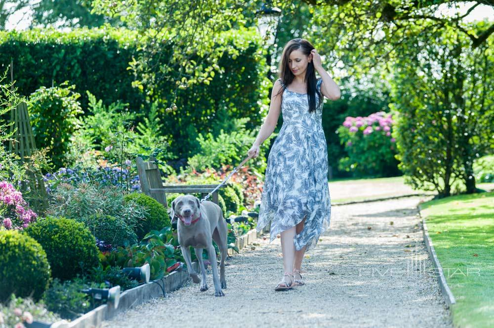 Stroll through the garden at Summer Lodge Country House Hotel and SpaDorsetUnited Kingdom