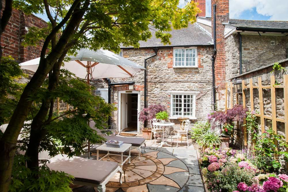 Exterior of Ivy Cottage at Summer Lodge Country House Hotel and SpaDorsetUnited Kingdom