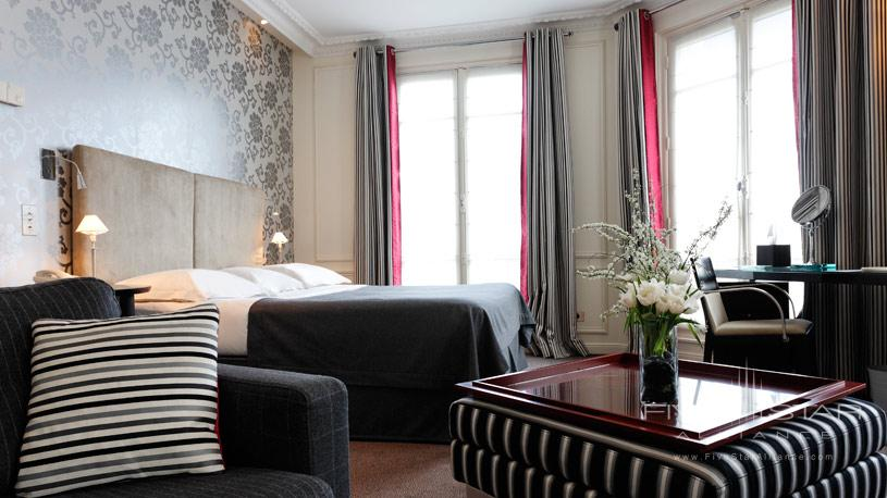 Double Deluxe Room at La Tremoille