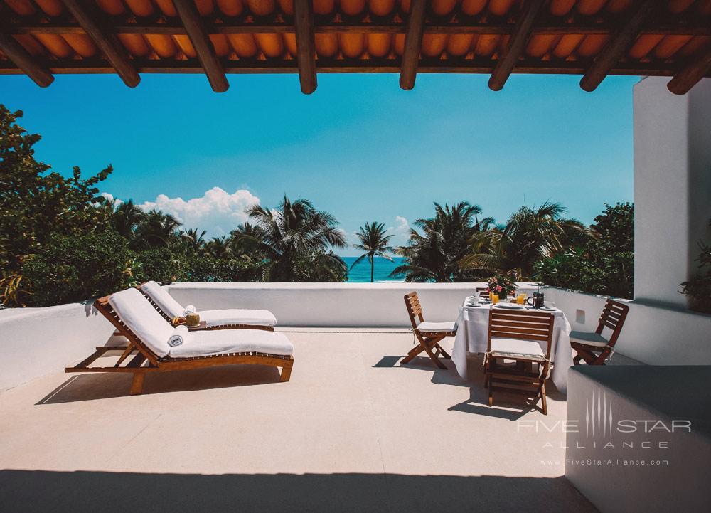 Master Suite Terrace at EsenciaPlaya del CarmenQuinta RooMexico
