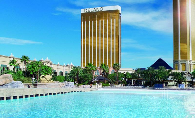 Exterior of Delano Las Vegas