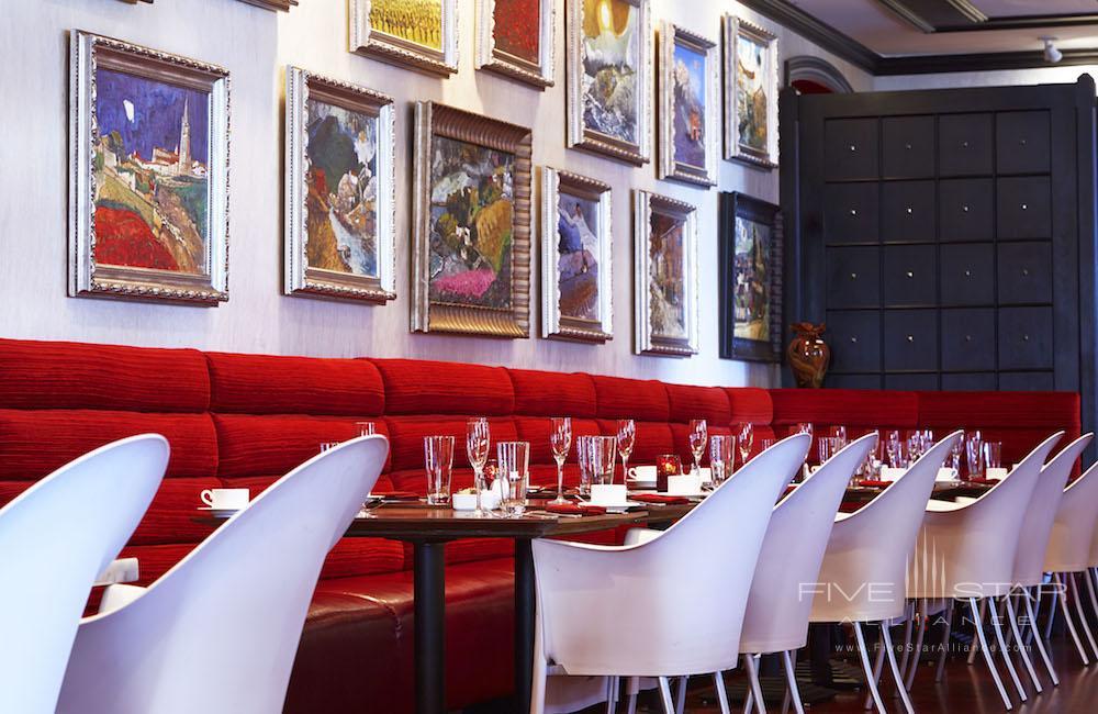 The Boheme Restaurant at the Grand Bohemian Hotel Orlando.