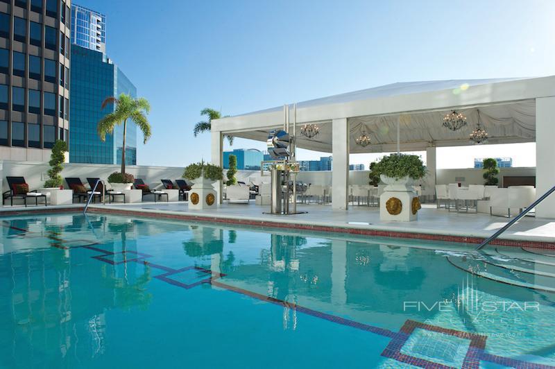 The pool at the Grand Bohemian Hotel Orlando.