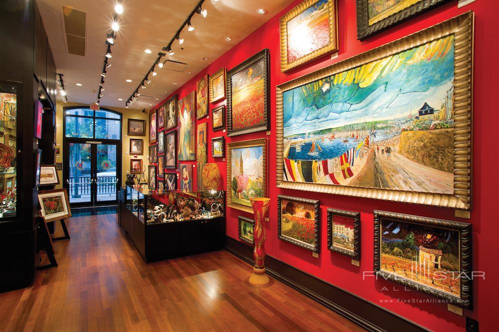 Grand Bohemian Art Gallery at the Grand Bohemian Hotel Orlando.
