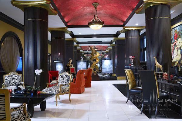The lobby of the Grand Bohemian Hotel Orlando.