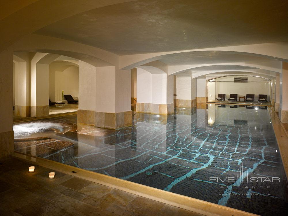 Indoor Pool at Boscolo PragueCzech Republic