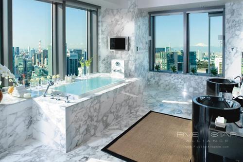 Mandarin Oriental Tokyo Presidential Suite Bathroom
