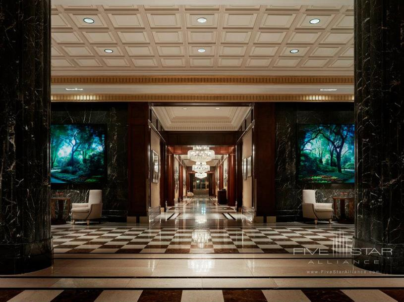 JW Marriott Essex House New York Lobby