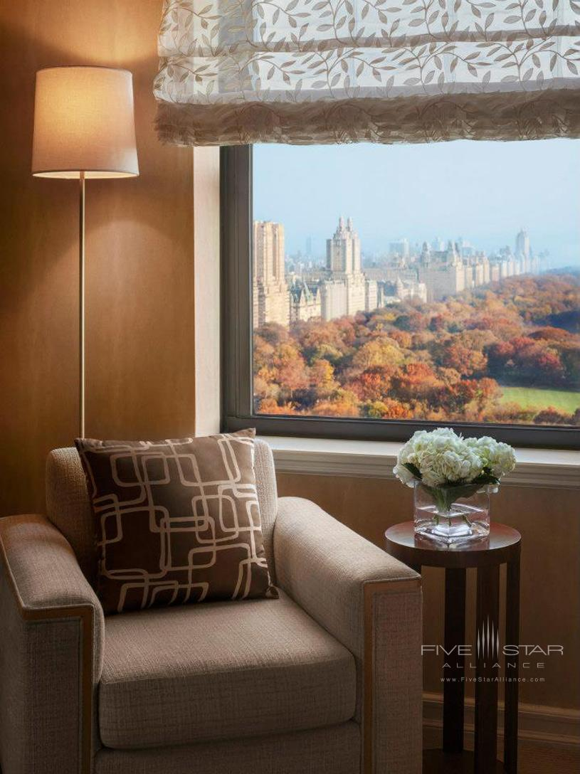 JW Marriott Essex House New York Guest Room View