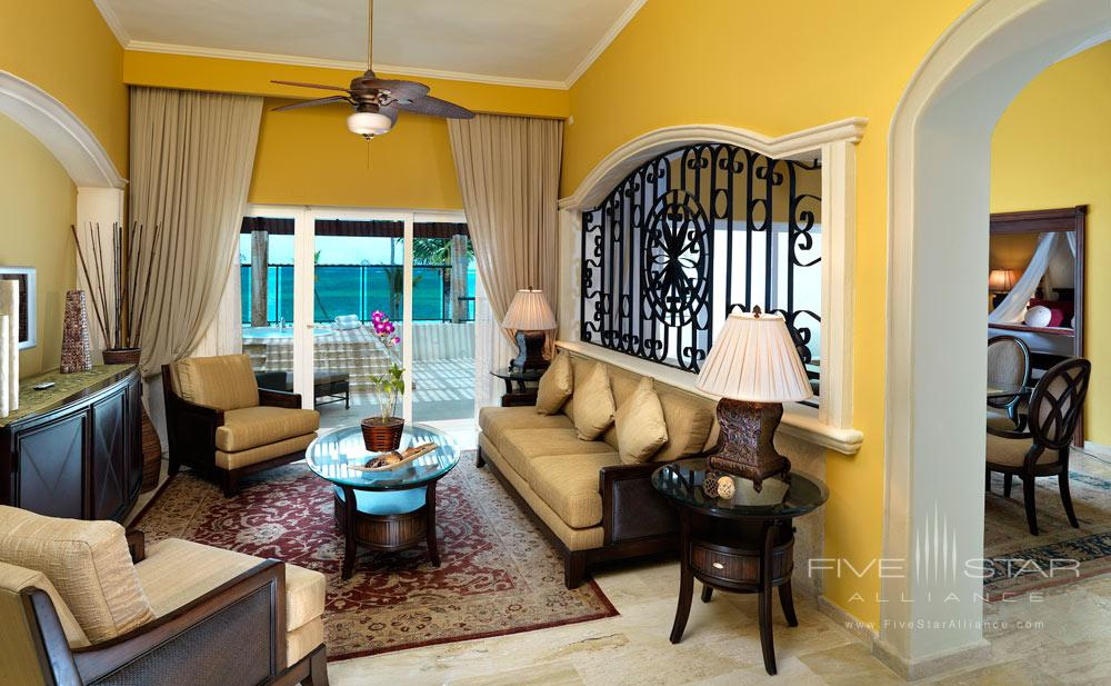 Presidential Suite Family Room at Paradisus Palma Real All Inclusive, Punta, Cana