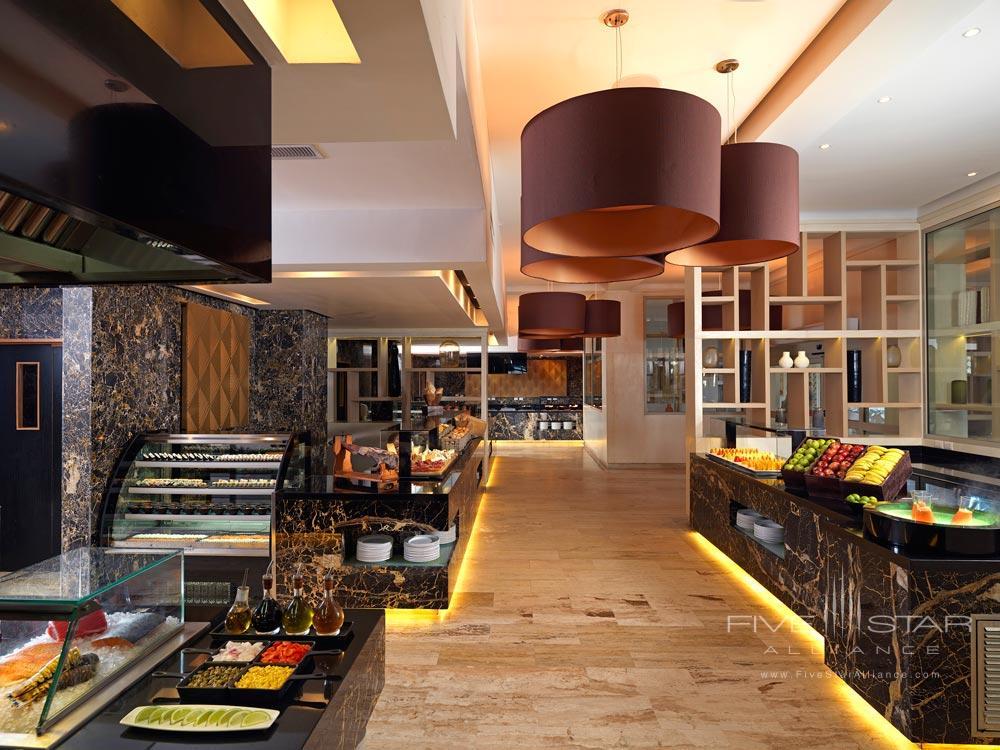 Buffet Style at Paradisus Palma Real All Inclusive, Punta, Cana