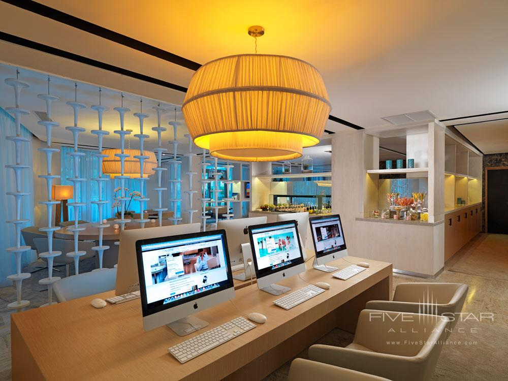 Business Center at Paradisus Palma Real All Inclusive, Punta, Cana