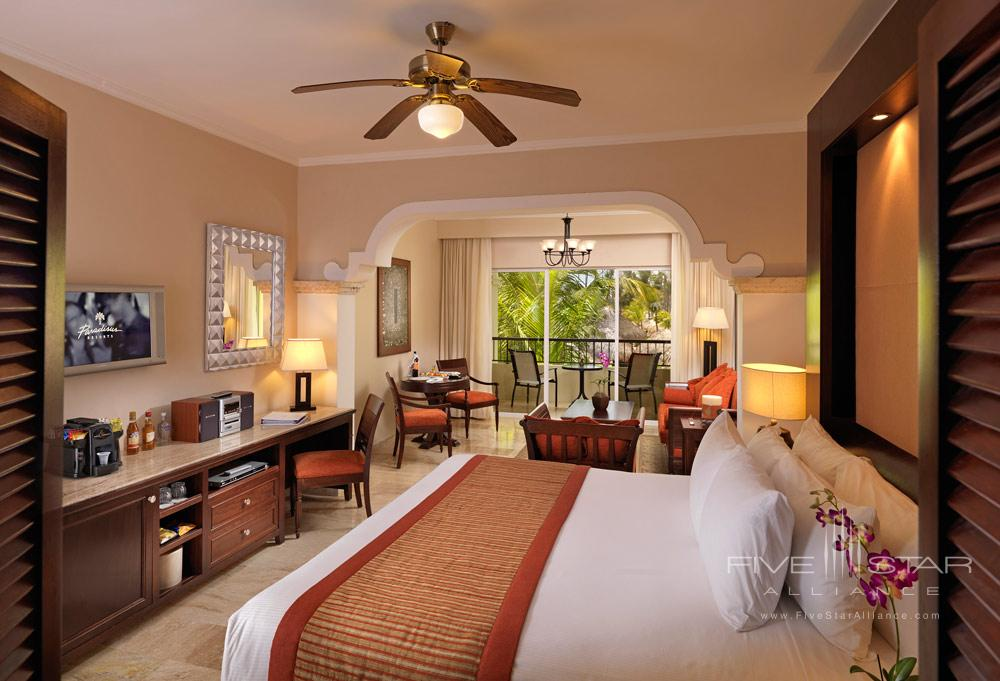 Deluxe Garden View Room at Paradisus Palma Real All Inclusive, Punta, Cana