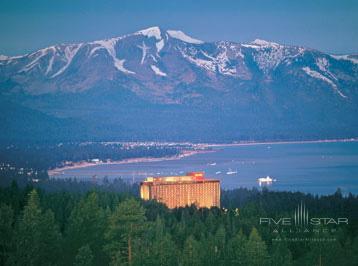 Exterior View of Harrahs Lake Tahoe Hotel and Casino