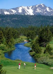 Golfing at Harrahs in Lake Tahoe