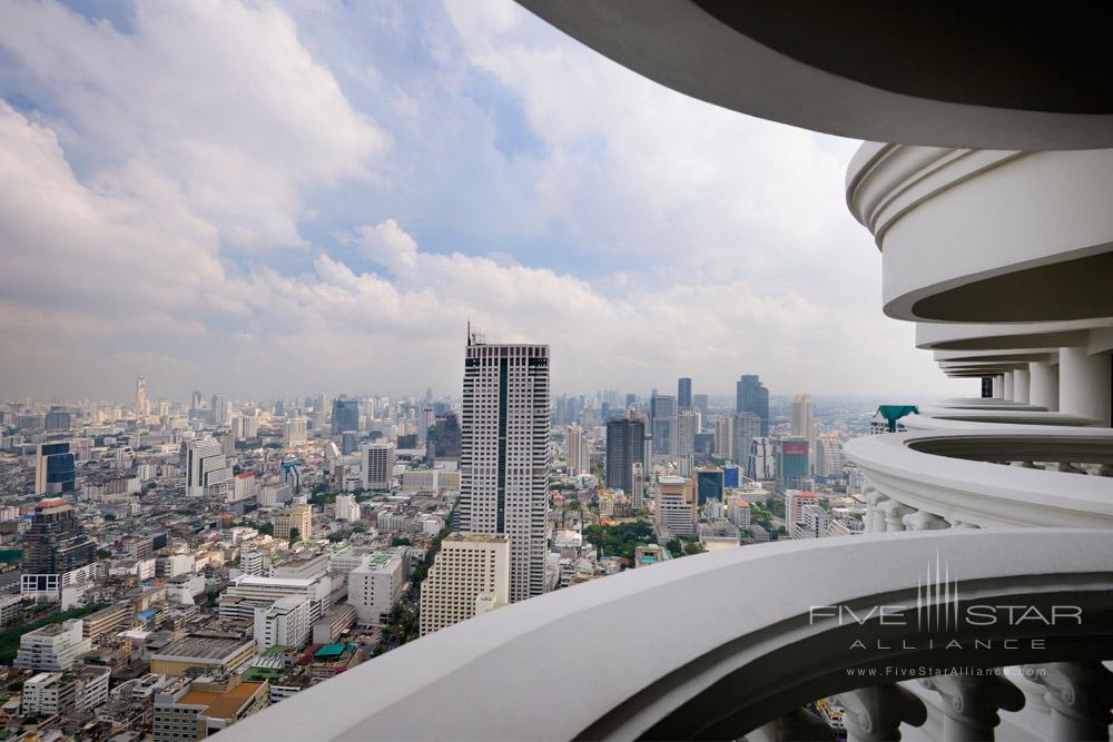 City View Balcony at Tower Club at LebuaThailand