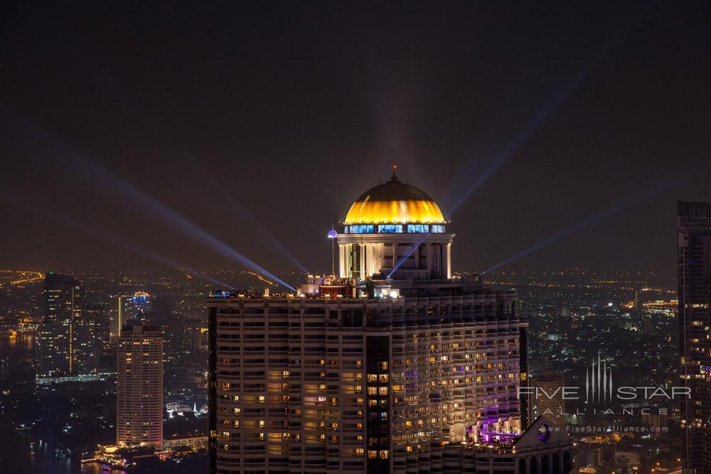 Night Exterior Views at Tower Club at LebuaThailand