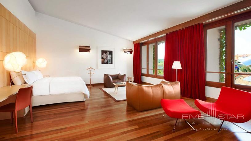 Guest Room at The Marques De Riscal Hotel