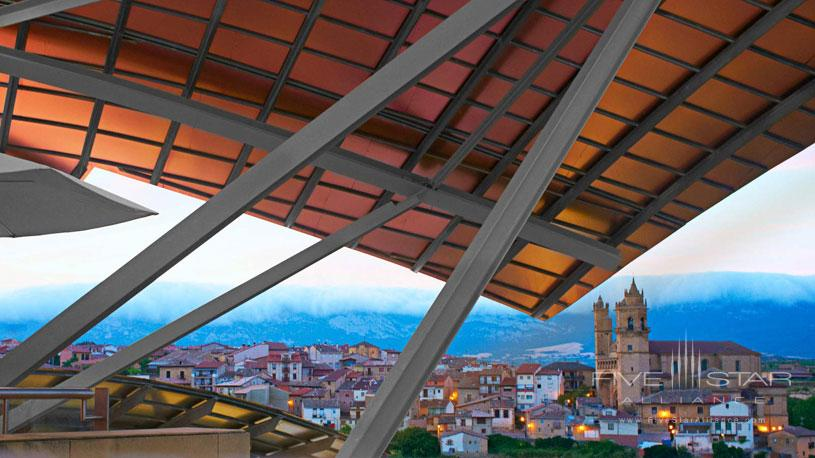 City View from The Marques De Riscal Hotel