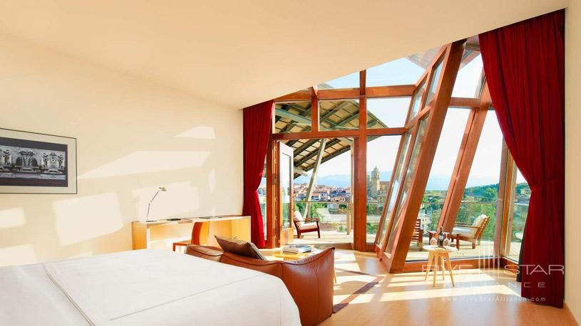 Suite at The Marques De Riscal Hotel