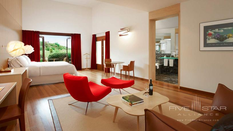 Executive Suite with a Terrace View at The Marques De Riscal Hotel